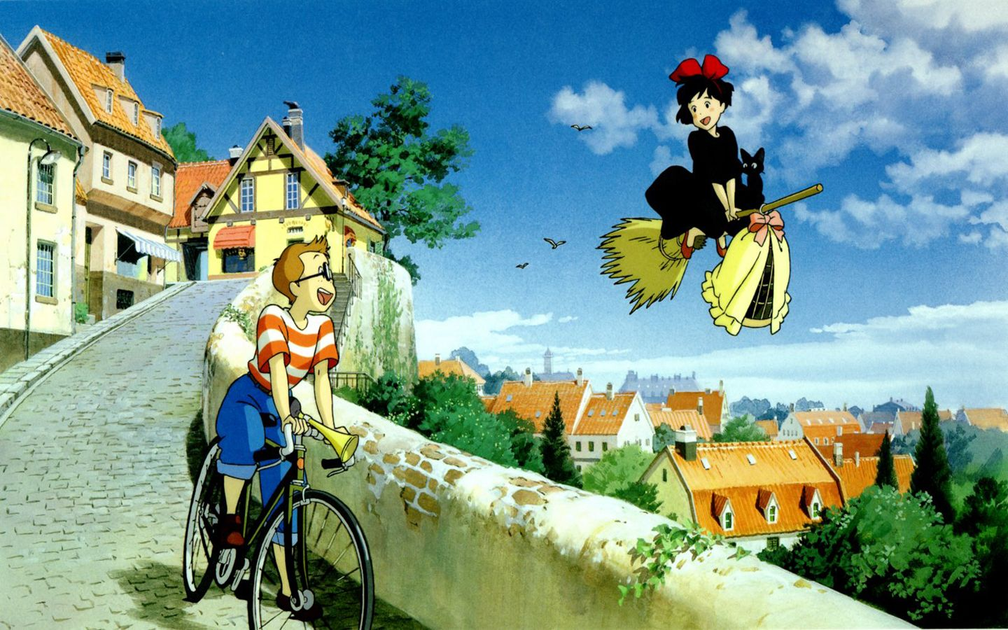 Kiki S Delivery Service Wallpaper With Images Studio Ghibli