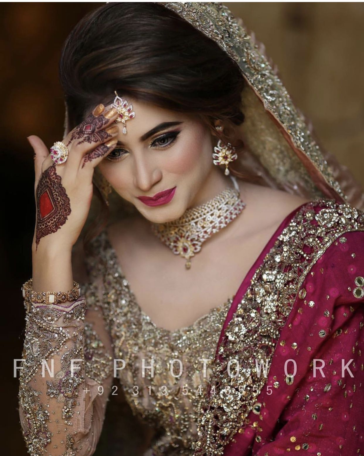 Pakistani bridal makeup by KS ️ on All AbOuT Weddings