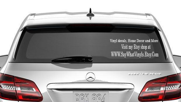 Cha ching decal business advertising car decal etsy shop vinyl decal personalized