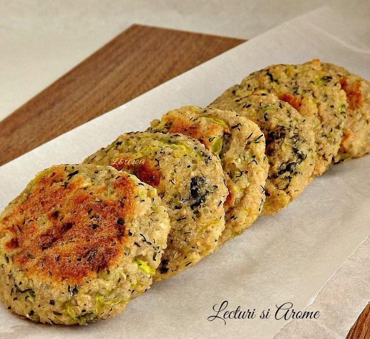 Chiftelute cu quinoa si dovlecel facute simplu, rapid si sanatos la cuptor