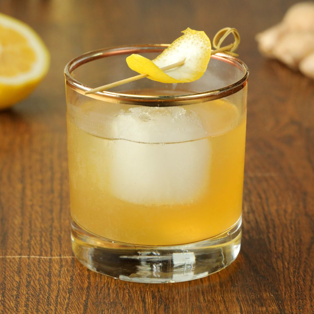 Surprise Dad on Father's Day with this classic cocktail and a bottle of his favorite blended scotch whisky, Johnnie Walker Black Label!