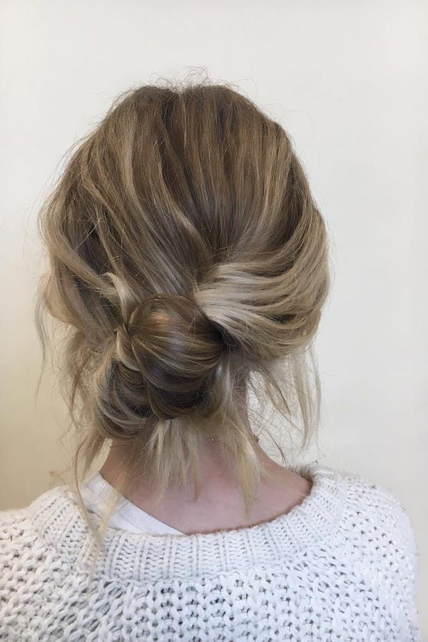 We're Calling It: Banana Buns Are the New Topknots | Long hair ...