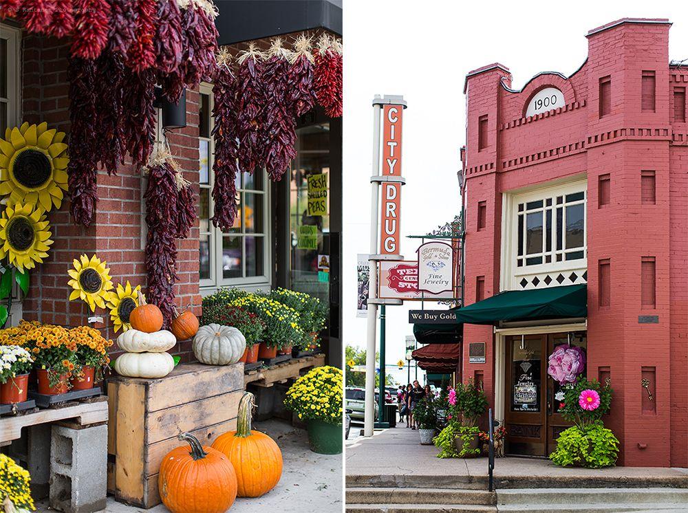 Pink Pionies: Grapavine Historic Main Street