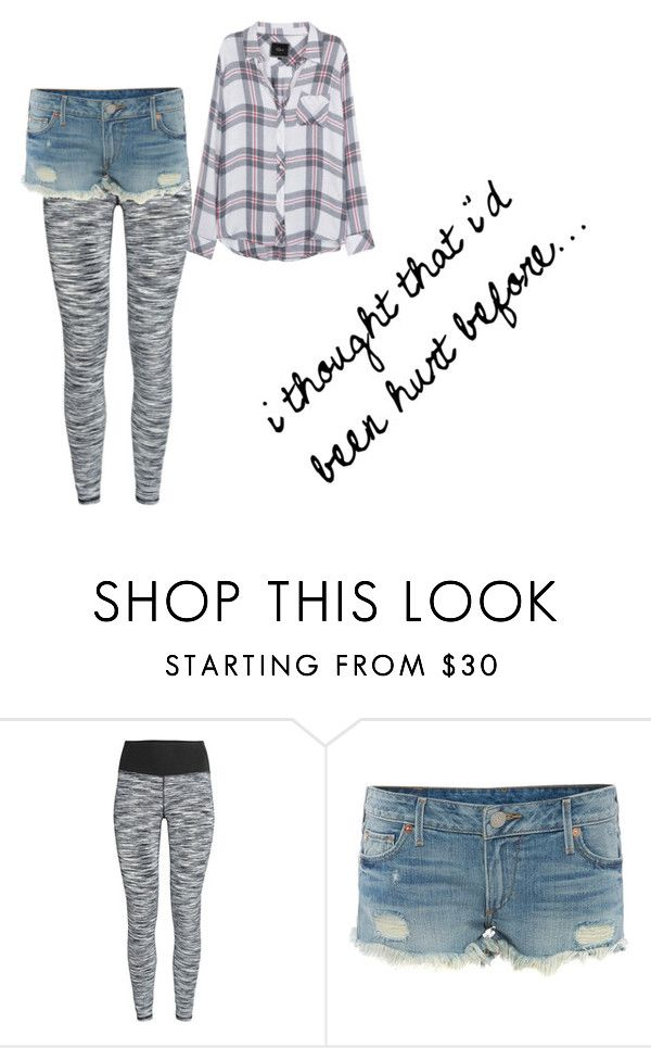 """""""stitches"""" by bl0nday ❤ liked on Polyvore featuring True Religion and Rails"""