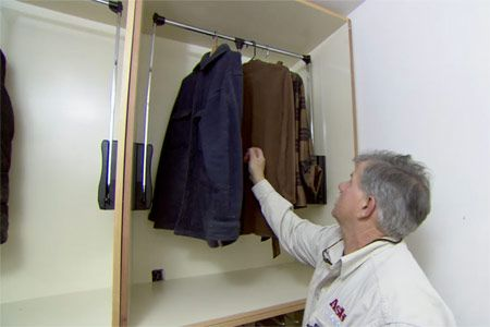 This Old House General Contractor Tom Silva Shows How To Maximize Closet  Space With Plywood Shelves And Boxes.
