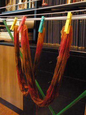 Artherapy: Come ti tingo la lana col micro