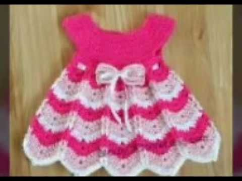 0a2a89ee205c Woolen frock for baby girl | beautiful frock design for kids in hindi ||  sweater designs - YouTube