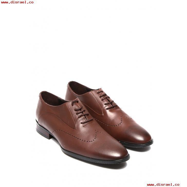 Shenn Hombre Británico Diseño Ponerse Bajo Top Vestir Cuero Zapatos (Caoba,EU38)