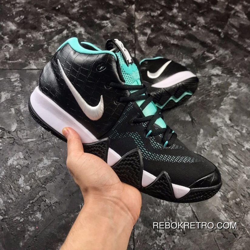 size 40 f116f 0179a Nike Kyrie 4 Black Mint/Black-Laser Fuchsia Laser Fuchsia ...