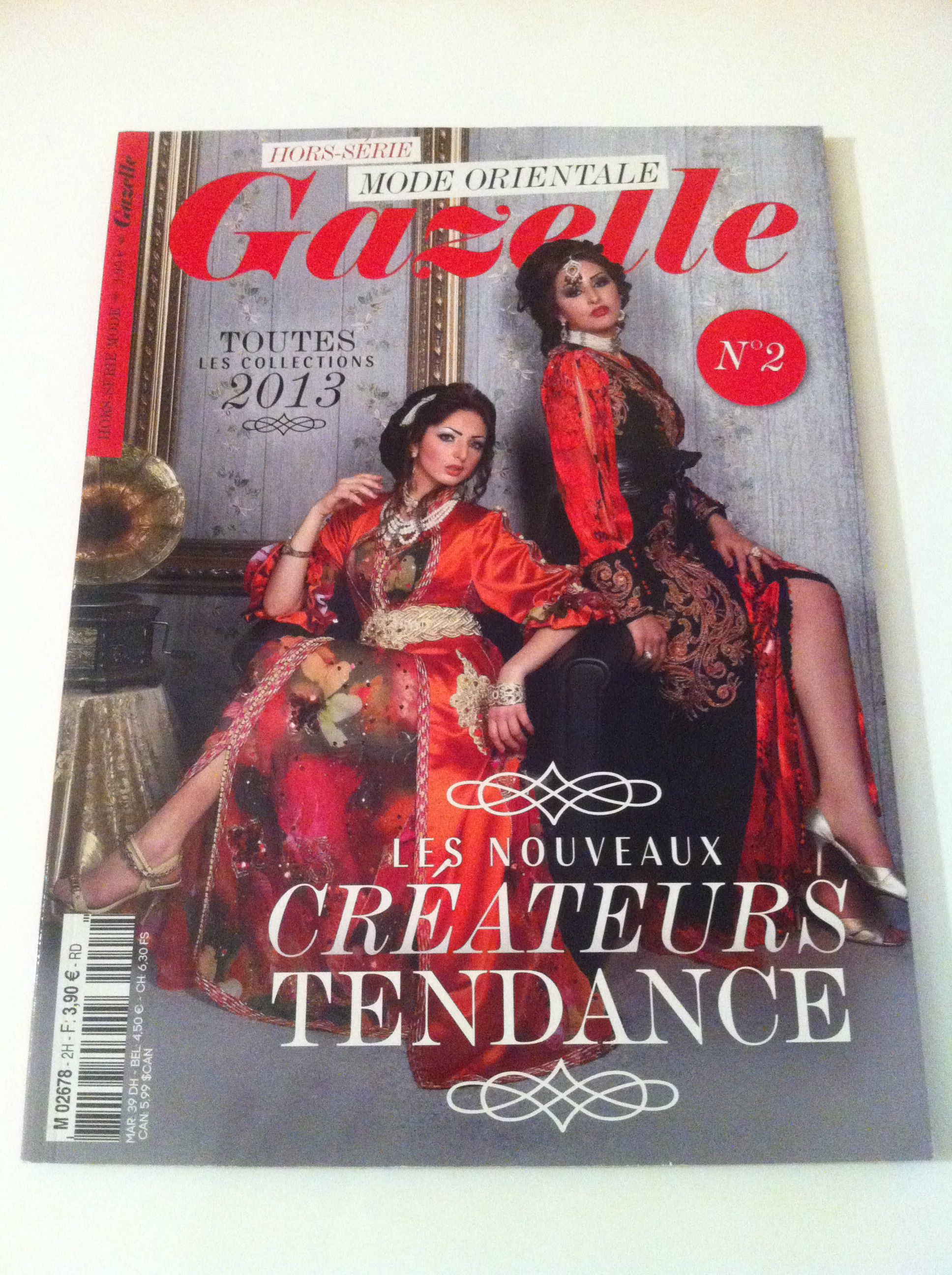 Gazelle hors serie 2 mode orientale | Gazelle, Oriental, Mode