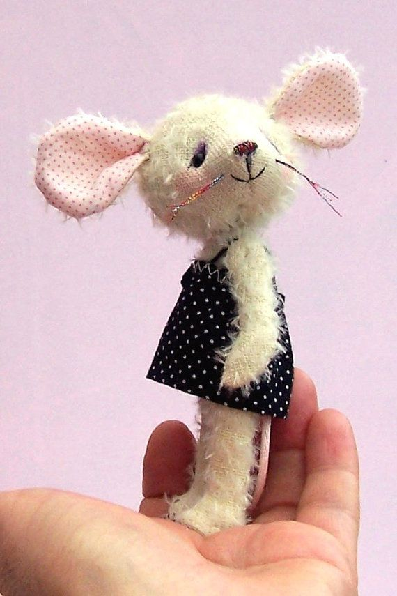 Carrie mouse soft toy digital mouse sewing pattern | tiere basteln ...