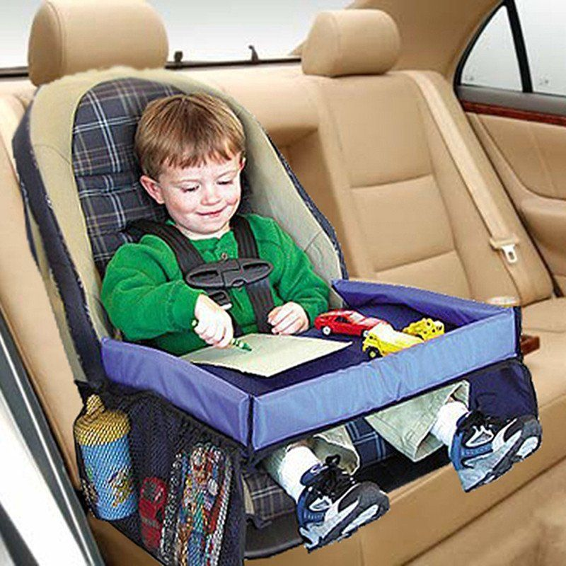 Portable Kids Snack Play Travel Tray