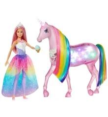 Barbie Dreamtopia Magic Touch Unicorn Doll Fxt26 In 2020 Unicorn Doll Barbie Unicorn