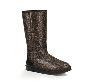Australia Tall Classic Automne Bottes léopard Ugg Glitter Nm0wynv8OP