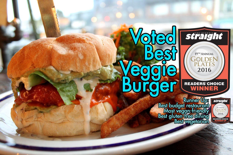 Best Veggie Burger Meet On Main Meet In Gastown Best Vegan Restaurants Vegetarian Friendly Restaurants Vegan Restaurants