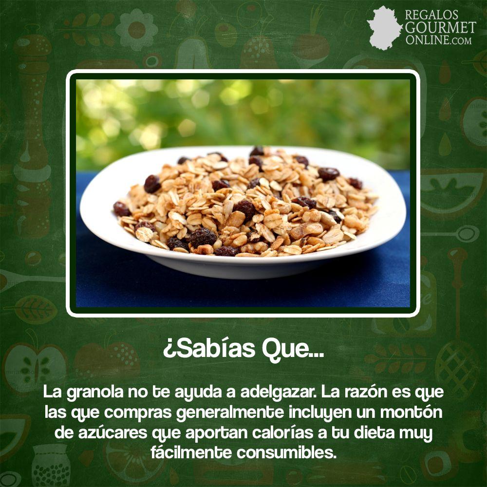 SabíasQue La granola no te ayuda a adelgazar? #Curiosidades ...