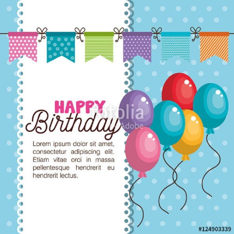 Birthday Invitation Card Vector Free Download Birthday