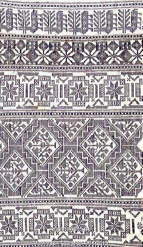Pattern Design Ideas - Hanging Scania, Sweden, 19th century