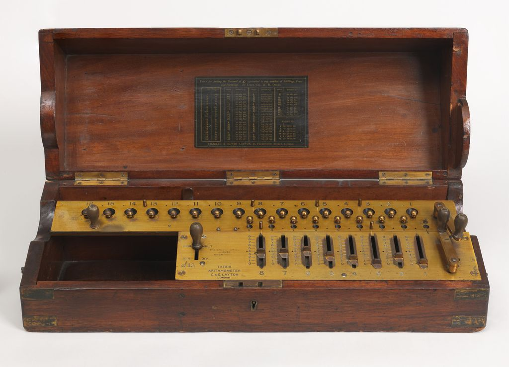 "Calculator, ""Arithrometer"", ca. 1890 