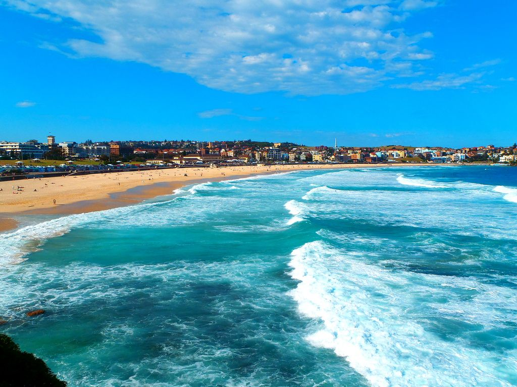 Bondi Beach Is One Of Australia S Most Famous Beaches And Well Known Worldwide Description From Monipag I Searched For This On Bing Images