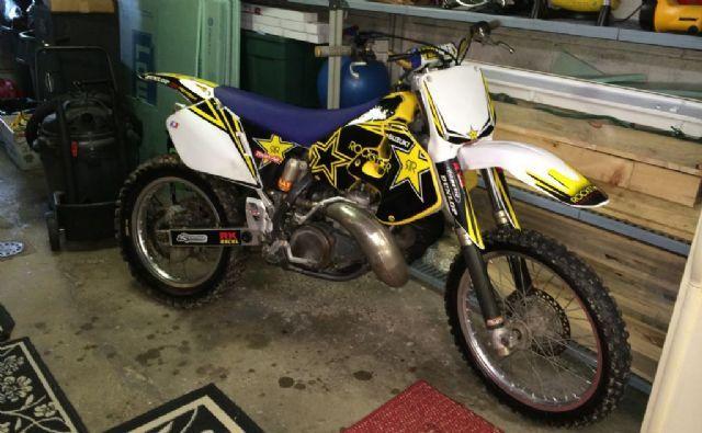 1998 Suzuki 250 Dirt Bike Rock Star Pkg For Sale In Washington