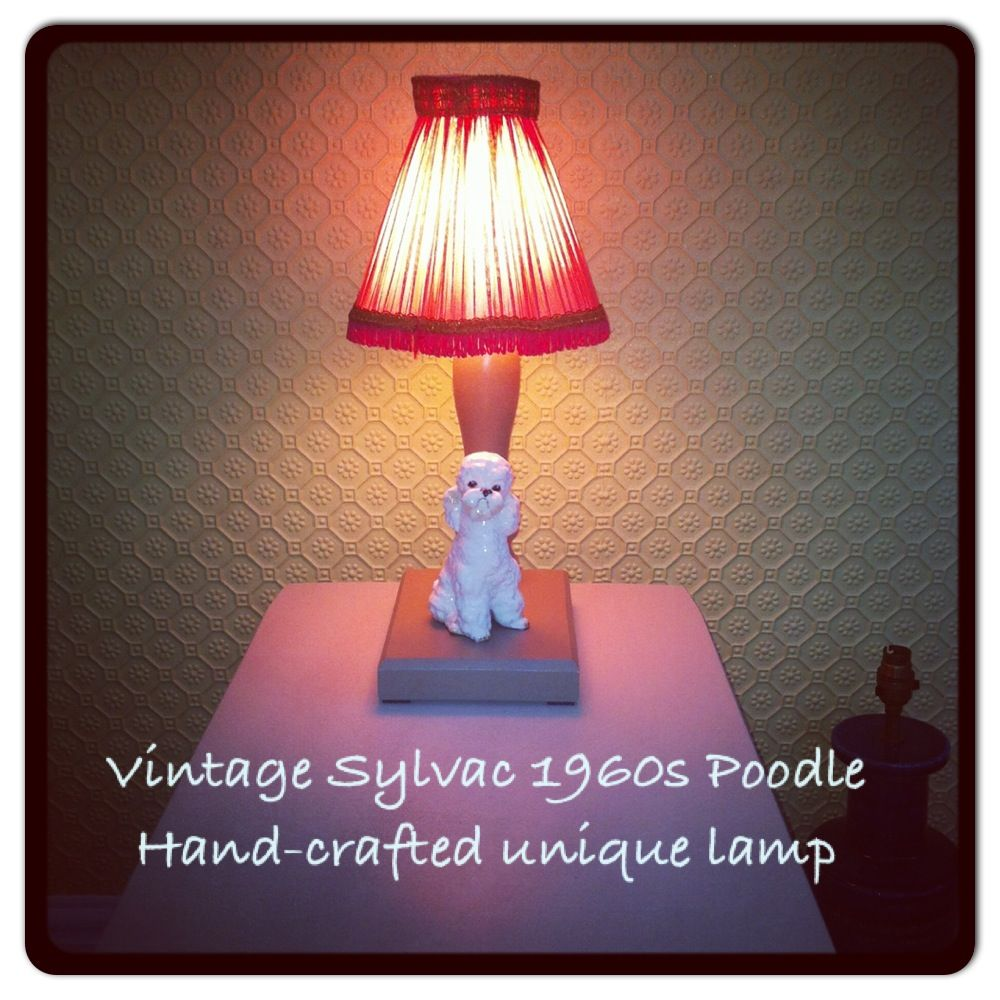 Upcycled vintage sylvac doggy as a lamp iloveupcycle sylvac upcycled vintage sylvac doggy as a lamp iloveupcycle geotapseo Images