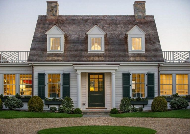 38 Inspiring Exterior House Colors Brown Roof Cape Cod House Exterior Hgtv Dream Home Cape Cod House Plans