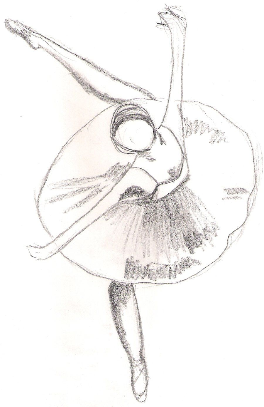 Ballet Drawing With Images Ballerina Sketch Ballet Drawings