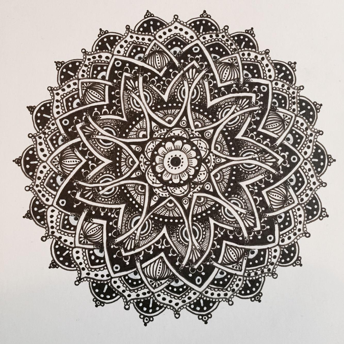 Mandala by M* #mandala #mandalaart