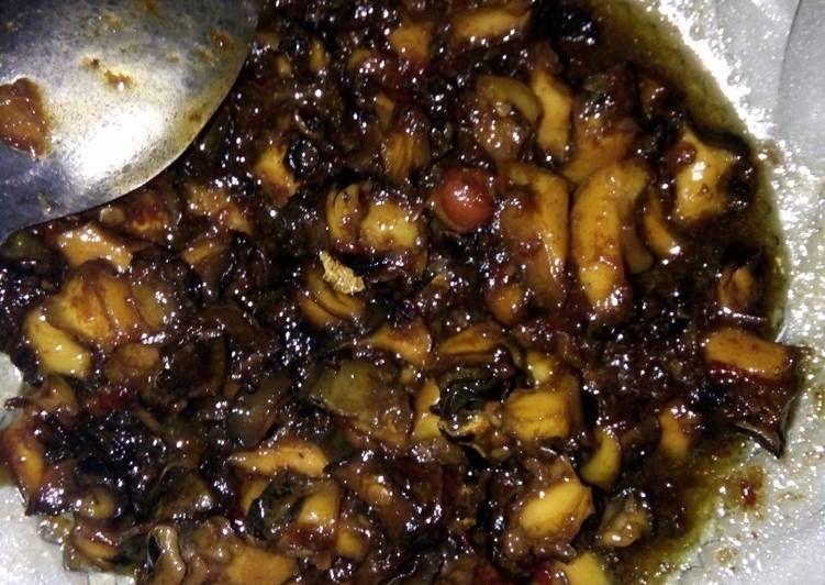 Resep Tutut Pedas Rica Rica Ada Manis Manisnya Makanan Resep Rebusan