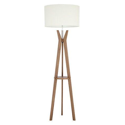 Buy i4DZINE Trafalgar Tripod Floor Lamp, Walnut Online at ...