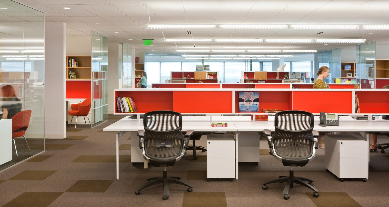 Knoll Antenna Offices Storage at desks Knoll Pinterest Desks