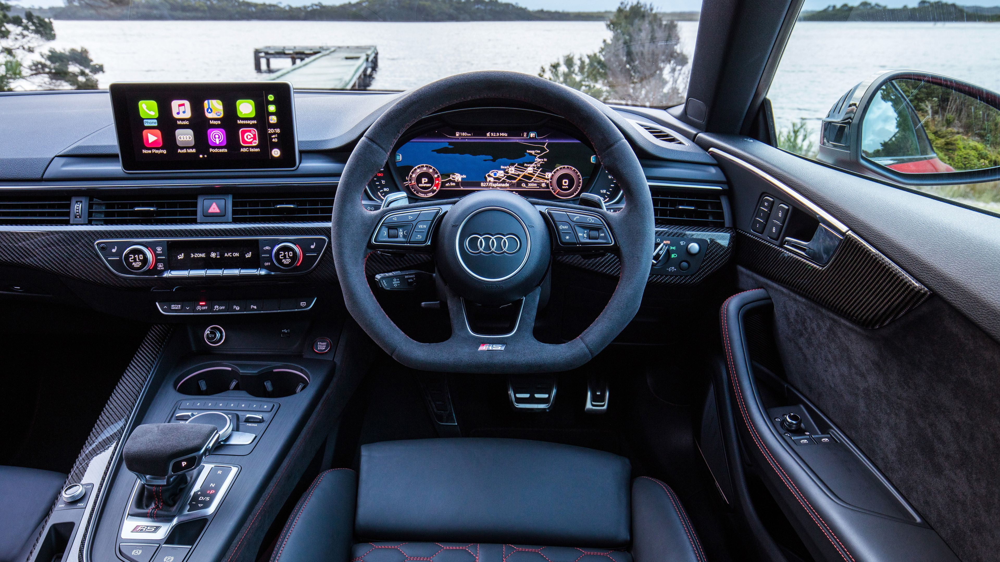 Wallpaper 4k Audi Rs5 Coupe Interior 4k 4k Wallpapers Audi Rs5