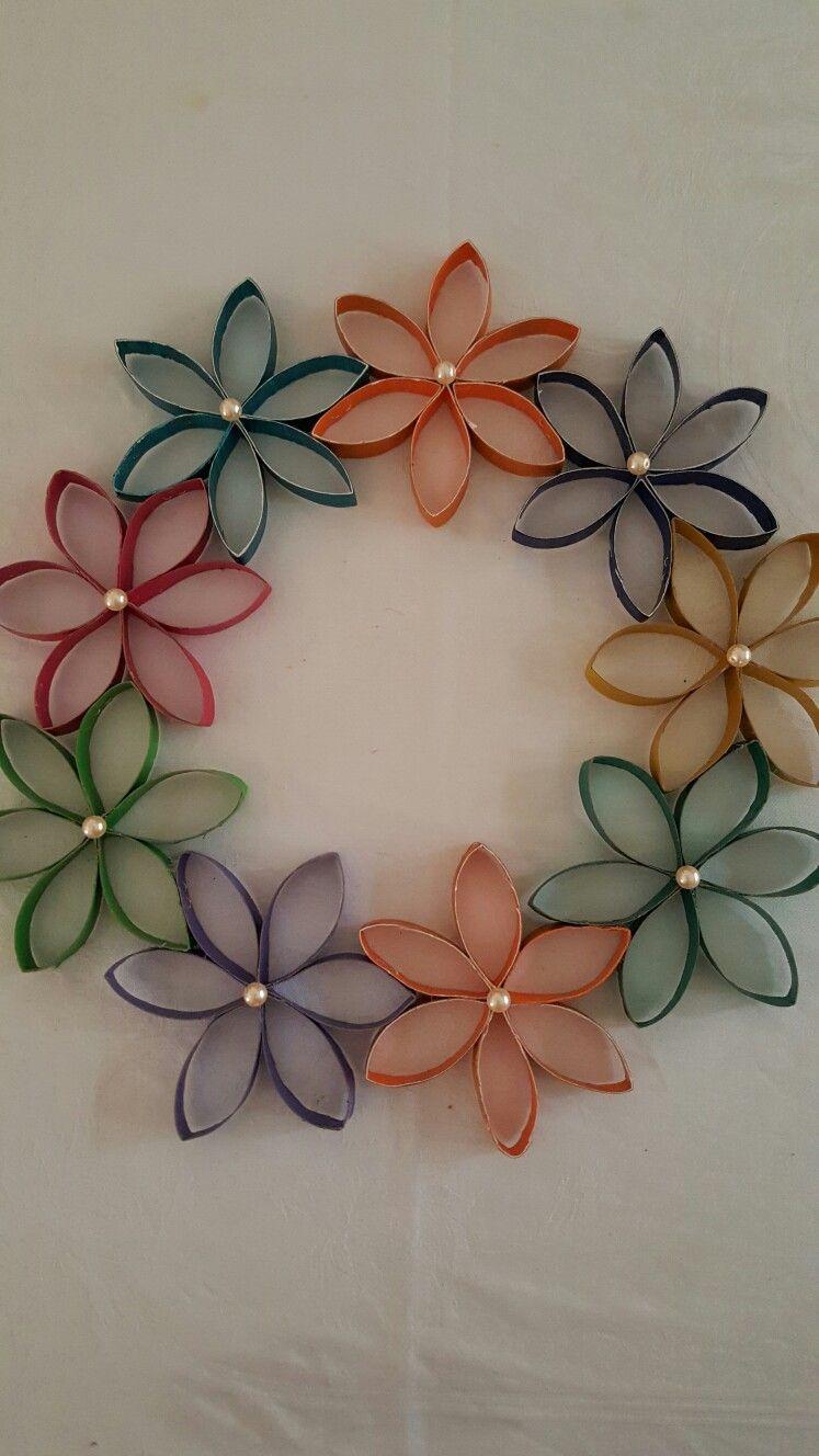 Colores Papel Reciclaje Toilet Paper Crafts Toilet Paper