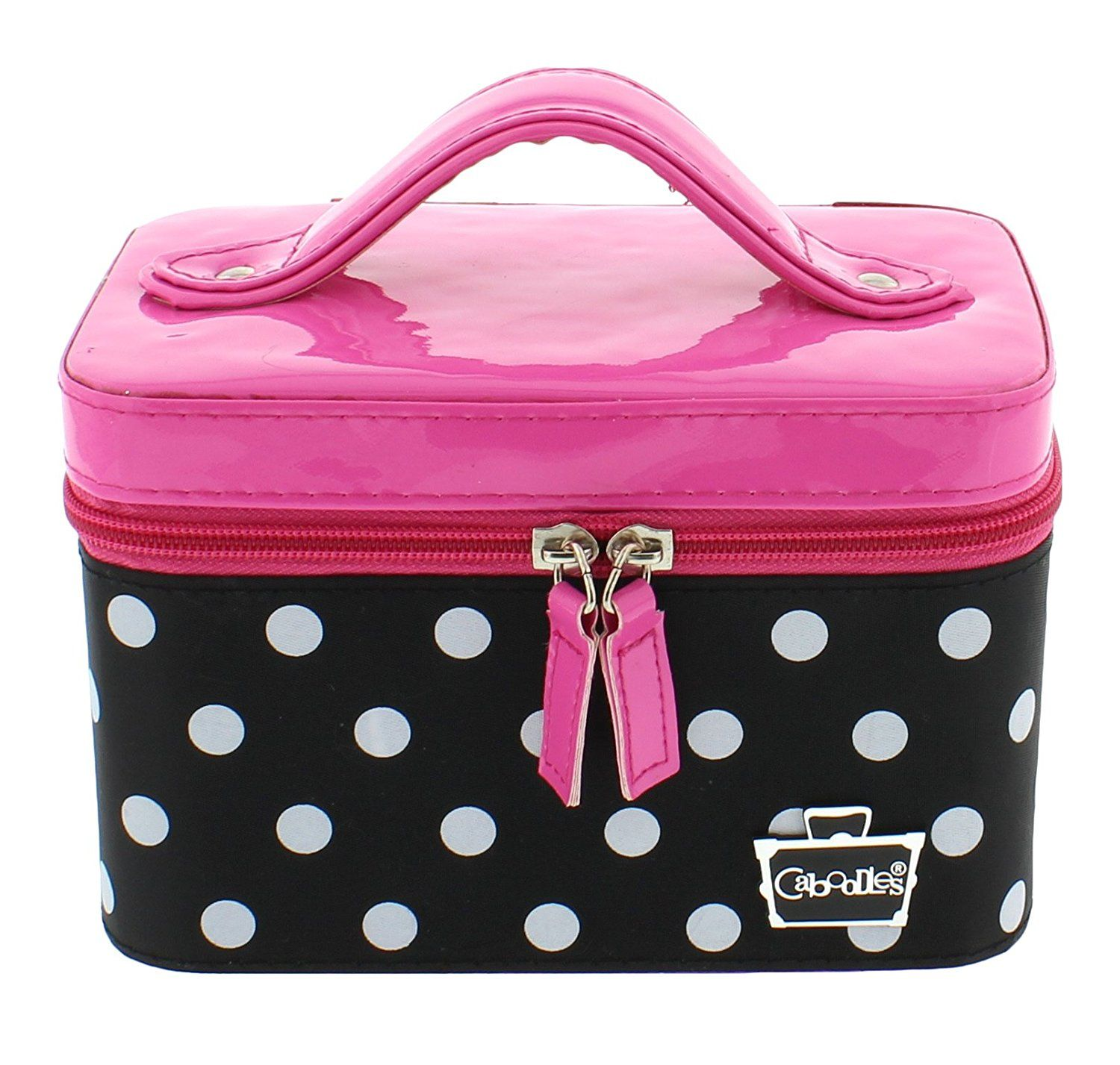 3410a596cfaf Caboodles Go Getter Small Train Case (Pink Polka Dots) -- You can find out  more details at the link of the image. (Note Amazon affiliate link)