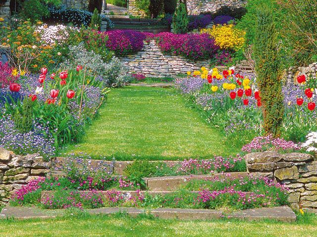Jardin En Pente Aménagement The Masteru0027s Gardener Pinterest
