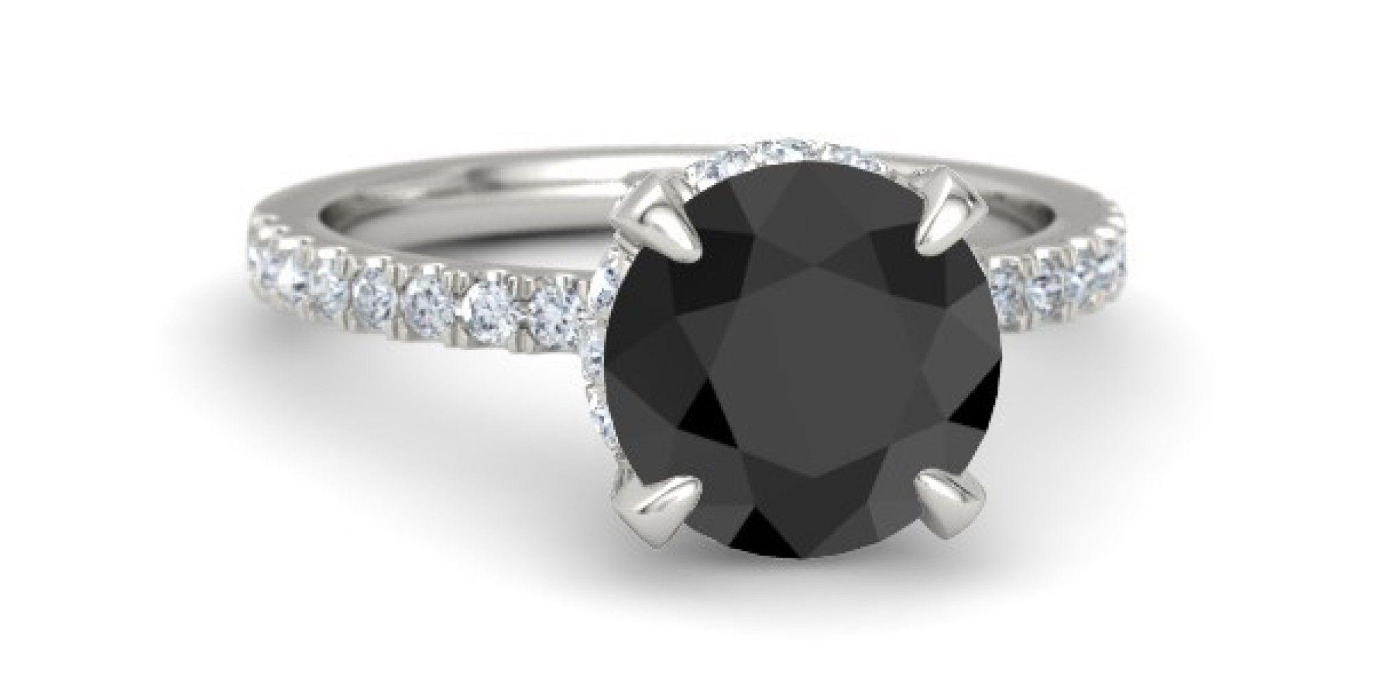 87c76d260 Black Diamond Engagement Rings Tiffany | Ring | Engagement rings ...