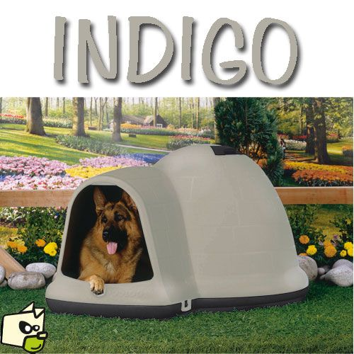 indigo niche plastique isol e pour chien petmate niche isol e animalerie pinterest niche. Black Bedroom Furniture Sets. Home Design Ideas