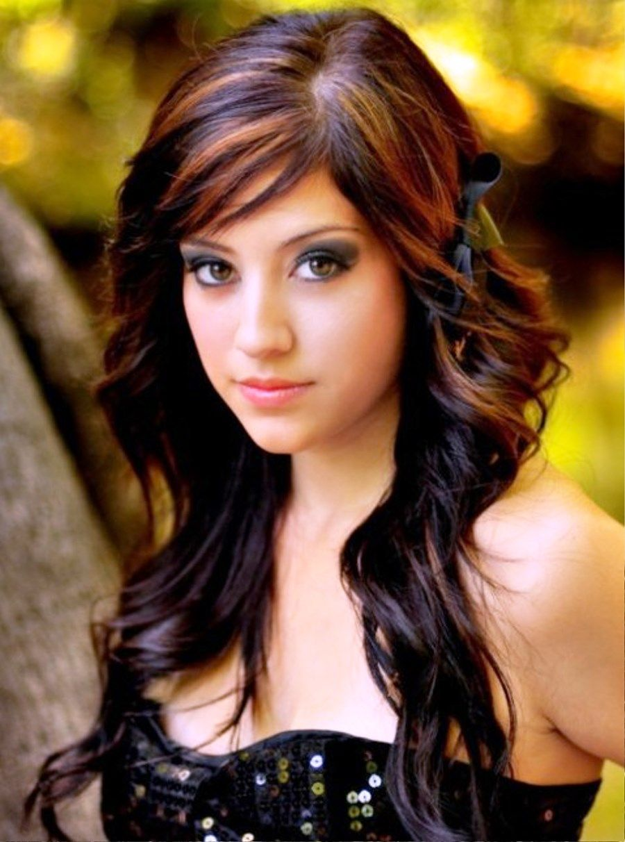 natural curly hair with highlights pictures of long curly hairstyles with hair highlights - Hair Color Highlights Styles