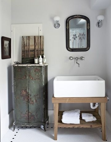 Repurposed Bathroom Vanity, Stylish Patina In Virginia U0026 DC | Stylish Patina