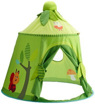 A reading corner in a tent in a class could be really cool_Enchanting Green Woodland Forest Indoor Play House Tent for Kids  sc 1 st  Pinterest & Haba Play Tent Magic Wood: Amazon.co.uk: Toys u0026 Games £65 | Play ...