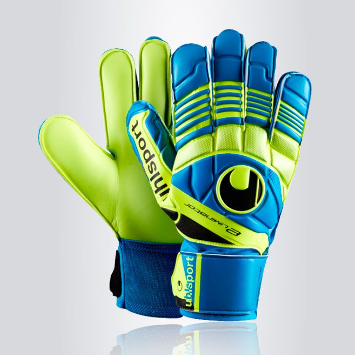 GUANTE ARQUERO UHLSPORT ELIMINATOR SOFT -El guante Uhlsport Eliminator Soft  tiene una palma de una 4902a4111993a