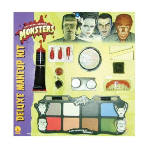 Universal Studios Deluxe Monster Makeup Kit, White, One Size *** Want additional info? Click on the image.