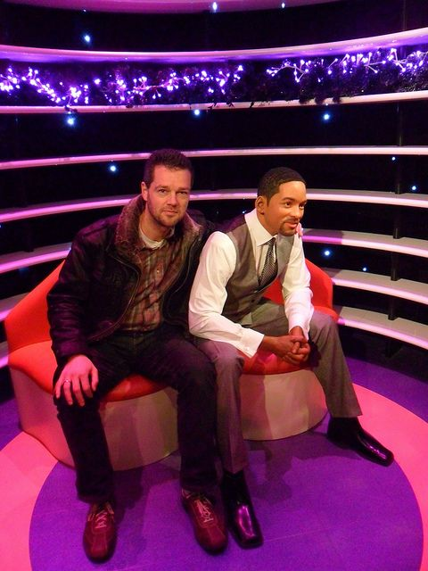 Henk Jan Met Will Smith In Madame Tussauds Amsterdam Madame Tussauds Tussauds Madame