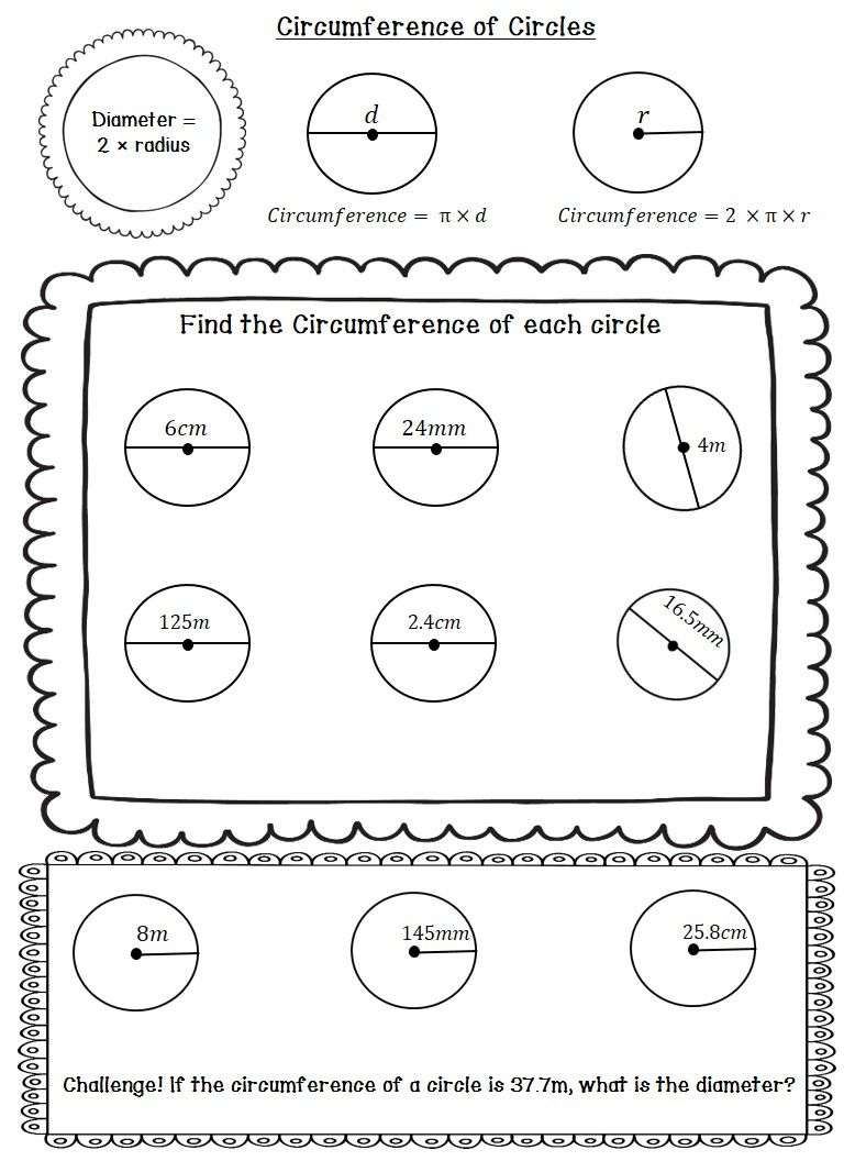 Circle Circumference and Area - Arc Length and Area of Sectors Notes +  Practice   Area worksheets [ 1056 x 778 Pixel ]