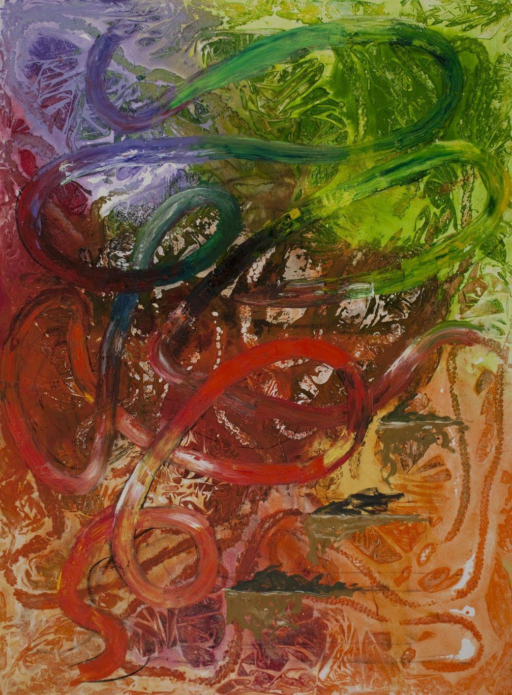Lyrical abstraction Gary Hudson