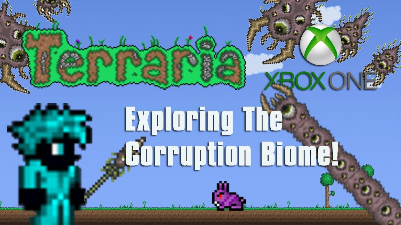 Terraria Xbox One Exploring The Corruption Biome 10 Biomes Xbox One Xbox
