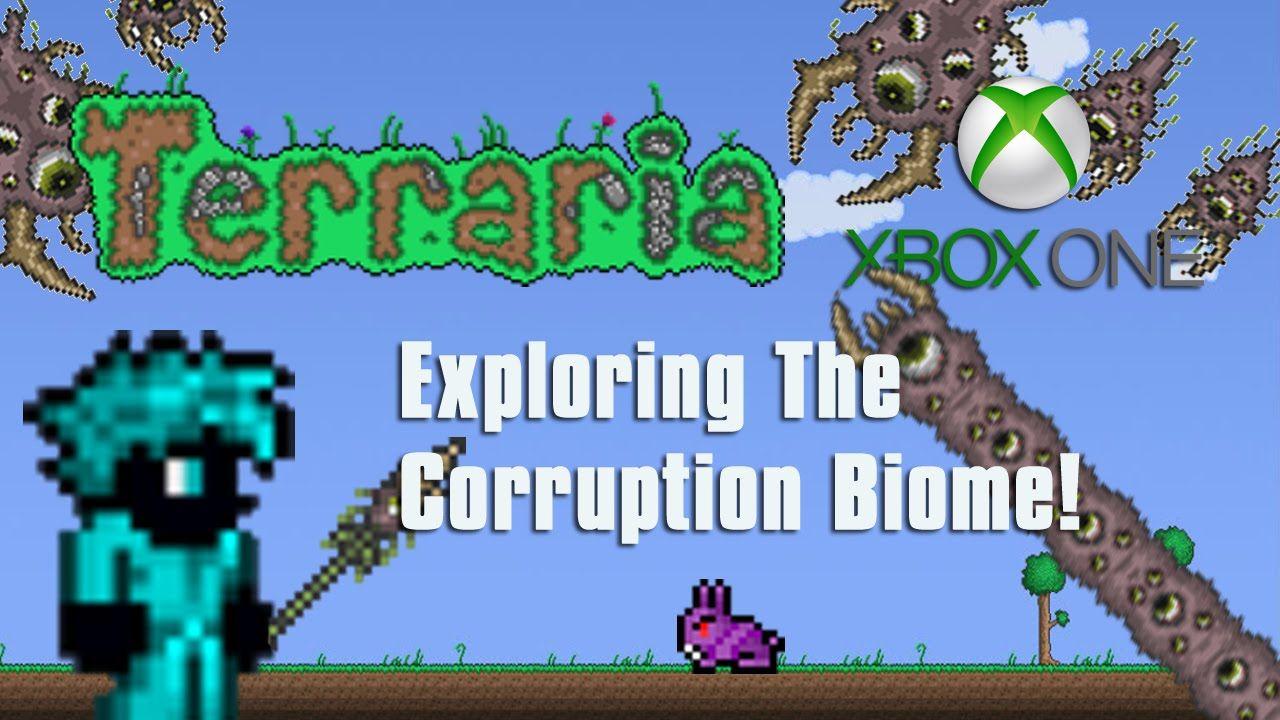 Terraria Xbox One Exploring The Corruption Biome 10 Biomes Xbox One Xbox