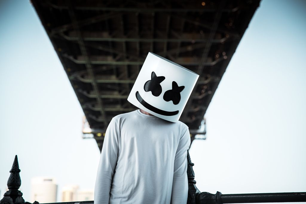 Marshmello dj wallpaper Edm music