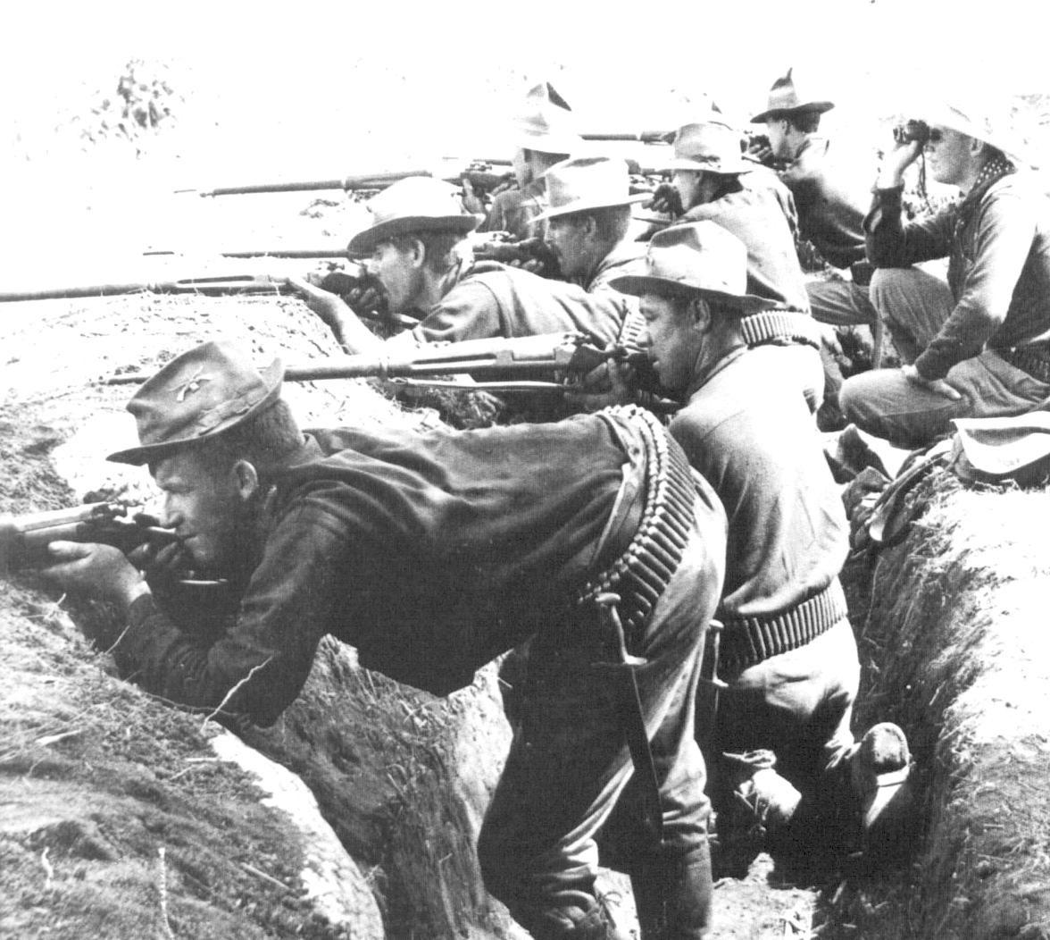 U S Troops In Spanish American War